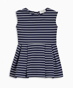 Choice Discount Navy Stripe Tunic Dress Next