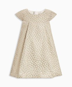 Next Signature Gold Jacquard Dress Choice Discount