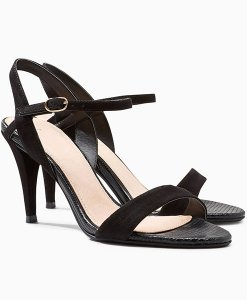 Next Black Barely There Sandals Choice Discount