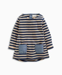 Next Navy Stripe Tunic Choice Discount