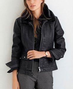 Next Western Faux Fur Black Jacket Choice Discount