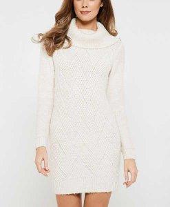 Cream Jumper Dress Choice Discount
