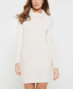 Cream Jumper Dress Choice Discount