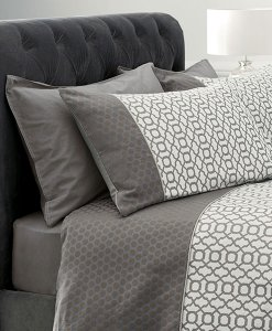 Next Silver Geo Jacquard Duvet Covers Choice Discount