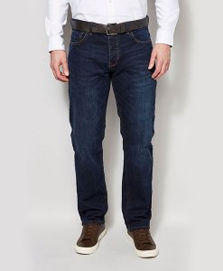 Next Dark Straight Belted Jeans Choice Discount