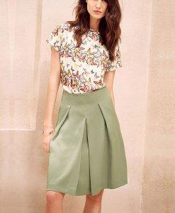 Next A-Line Khaki Skirt Choice Discount