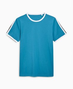 Choice Discount Taped Sleeve T-Shirt Next