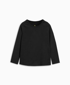 Choice Discount Plain Black Long Sleeve Top Next