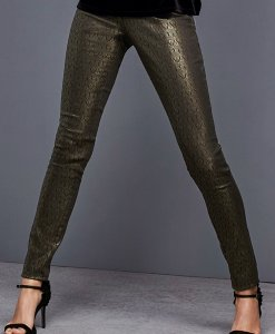 Choice Discount Gold Jacquard Trousers Next