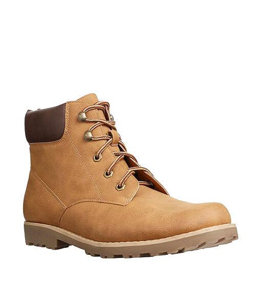 Beige Work Boots