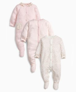 Choice Discount Pink Bunny Sleepsuits Next