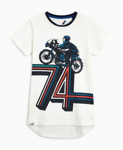Next 74 Motorbike T-Shirt Choice Discount