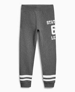 Next Charcoal Varsity Joggers Choice Discount