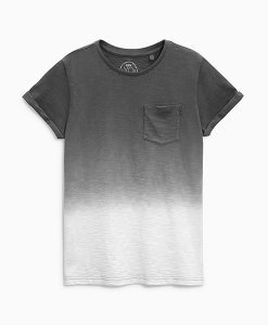 Next Grey Dip-Dye T-Shirt Choice Discount