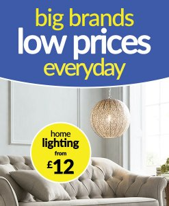 Lighting from £12