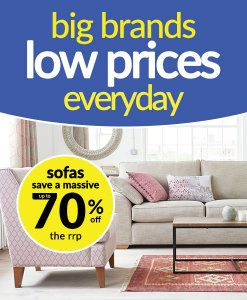 Massive Savings on Sofas at Choice Discount