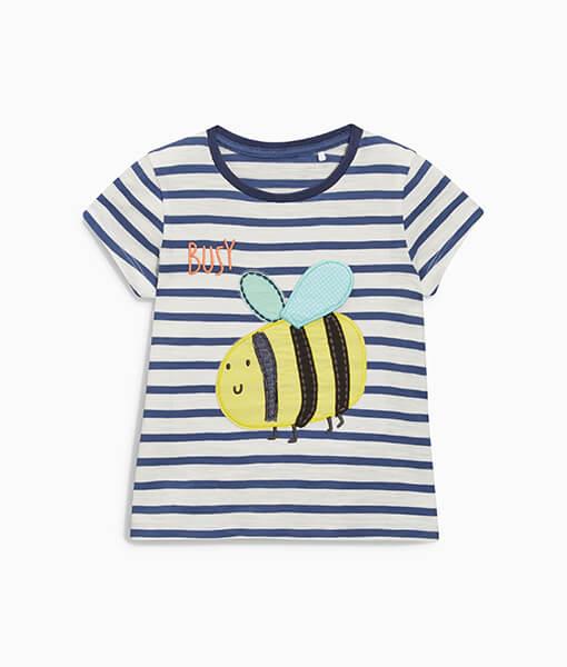 Stripe Bee T-Shirt