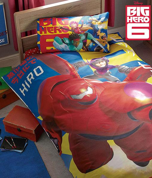 Big Hero 6 Single Duvet Cover