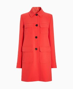 Next Coral Patch Pocket Coat Choice Discount