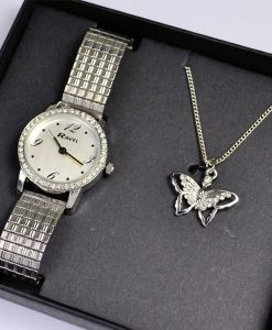 Watch and Necklace Gift Set Choice Discount