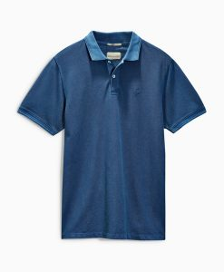 Choice Discount Navy Pique Polo Next