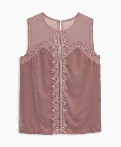 Choice Discount Velvet Sleeveless Top Next
