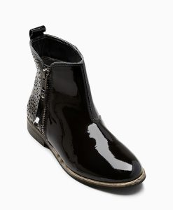 Choice Discount Patent Leather Chelsea Boots Next