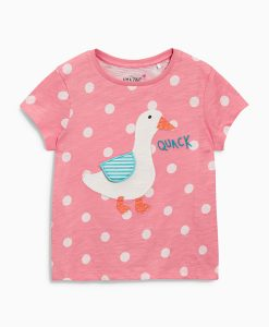 Next Pink Spotty T-Shirt Choice Discount