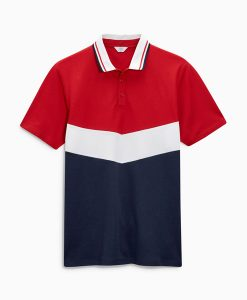 Choice Discount Red Chevron Polo Shirt Next