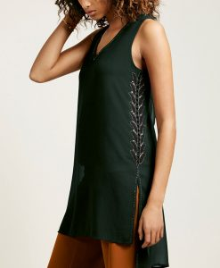 Choice Discount Green Embellished Tunic Next