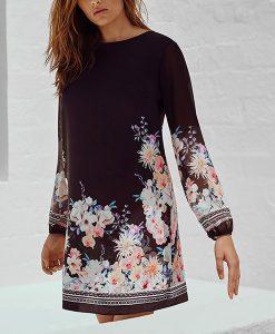 Lipsy Oriental Shift Dress Choice Discount
