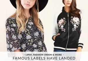 Famous Labels Have Landed