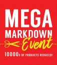 Mega Markdown Event - Now On!