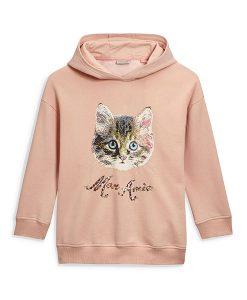Next Pink Cat Hoodie Choice Discount