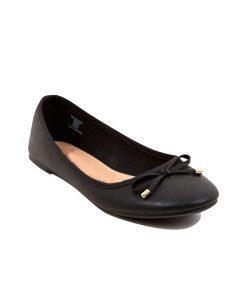 Black Ballerina Pumps Choice Discount