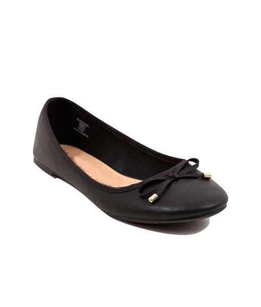 Black Ballerina Pumps