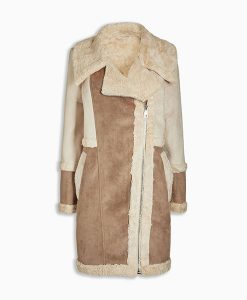Next Faux Fur Shearling Jacket Choice Discount