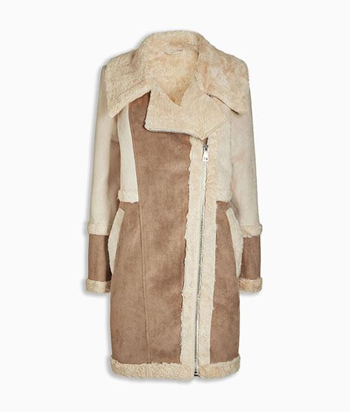 Next Faux Fur Shearling Jacket Choice Discount