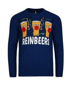 Threadbare Reinbeers Christmas Jumper Choice Discount