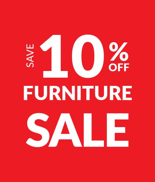 Save 10% off Furniture - Sale