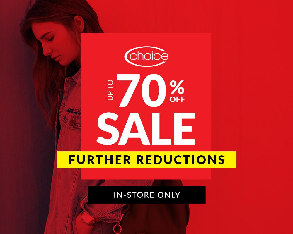 Choice Sale Now On!