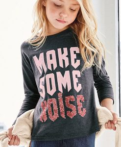 Make Some Noise Sequin T-Shirt