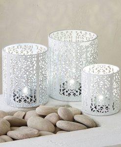 Set of 3 Oriana Tealight Holders