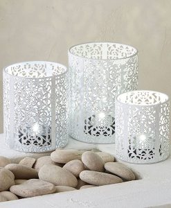 Set of 3 Oriana Tealight Holders