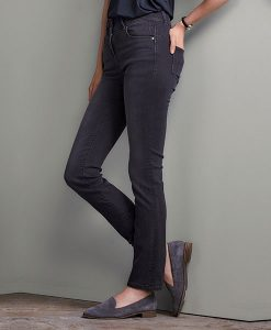 Sculpted Grey Slim Jeans