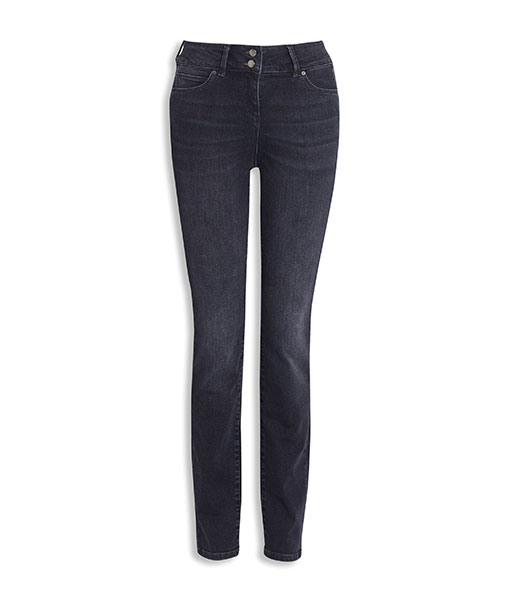 Sculpted Grey Slim Jeans