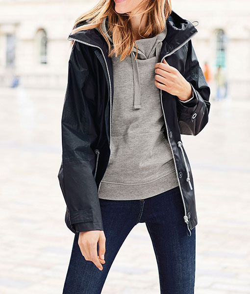 Navy Ripstop Jacket