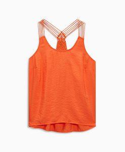 Orange Vest Top