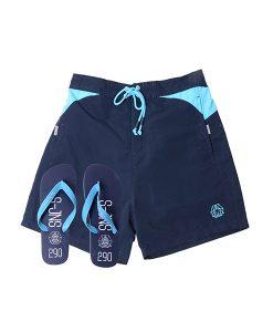 Smith & Jones Shorts and Flip Flops Set