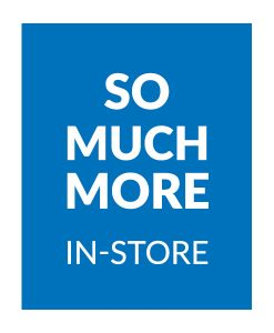 BOYS - So much more in-store!